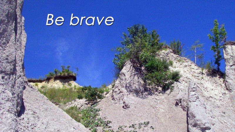 Be Brave Clifftop