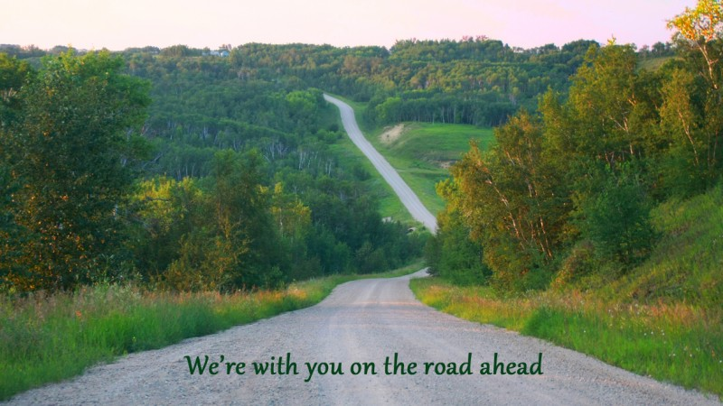With you on the Road Ahead