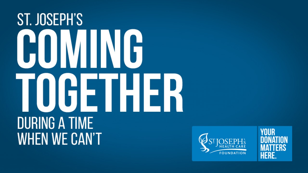 Coming together promotional banner