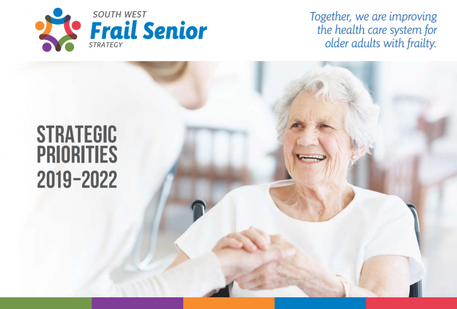 South West Frail Seniors Strategy cover page