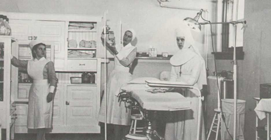Historical photo of St. Joseph's Health Care, London
