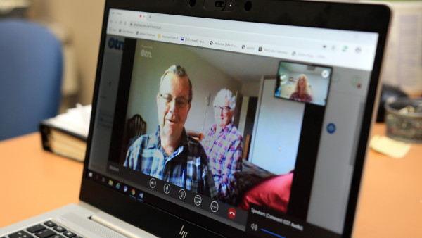 patients connecting virtually
