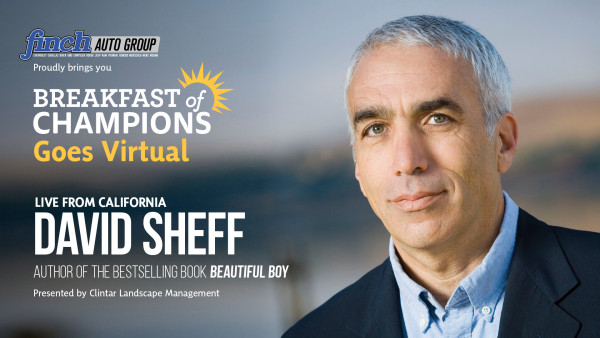 Breakfast of Champions featuring David Sheff